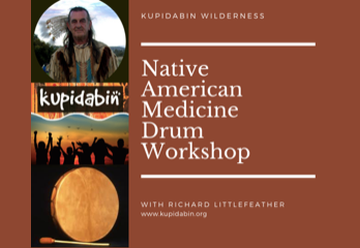 Native American Drum Making Workshop 9-11 Nov 2018